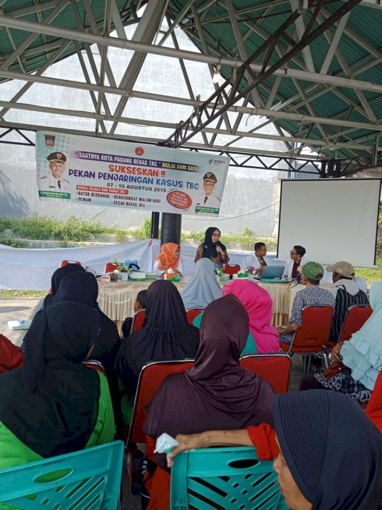 Pekan Penjaringan Kasus TBC,Strategi Berantas TBC di Kota Padang