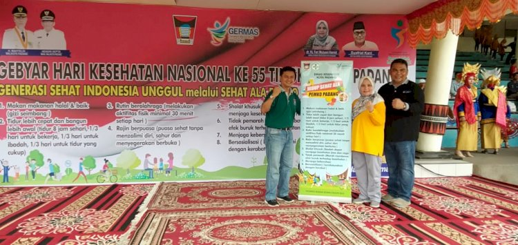 Generasi Sehat,Indonesia Unggul melalui Sehat Ala Pemko Padang