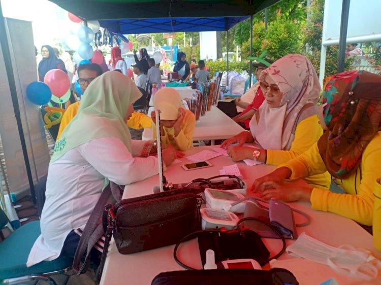Nikmati CFD dengan OCE KK bareng Puskesmas Ulak Karang