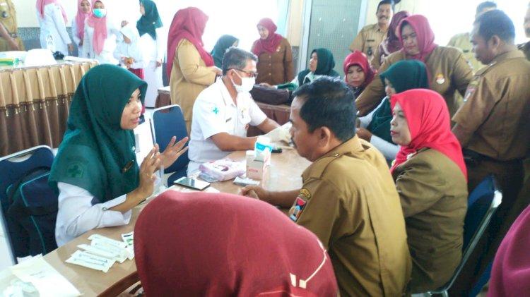 Posbindu Perkantoran dan Kelurahan se-Kecamatan Kuranji Padang