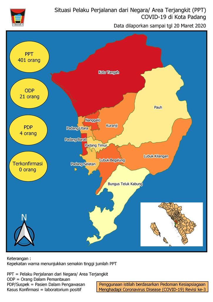 Situasi Terkini Perkembangan Pemantauan Coronavirus Disease (COVID19 di Kota Padang)_21 Maret 2020