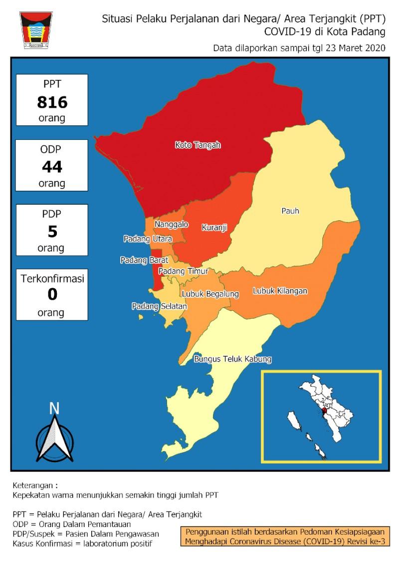 Situasi Terkini Perkembangan Pemantauan Coronavirus Disease (COVID-19) di Kota Padang_24 Maret 2020