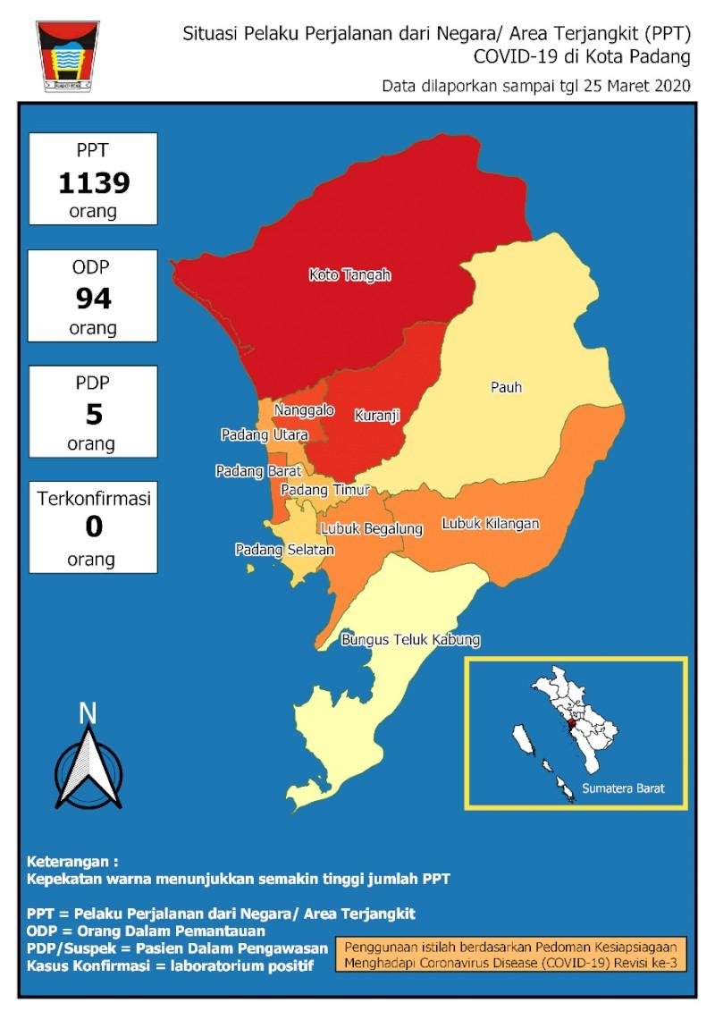 Situasi Terkini Perkembangan Pemantauan Coronavirus Disease (COVID-19) di Kota Padang_26 Maret 2020